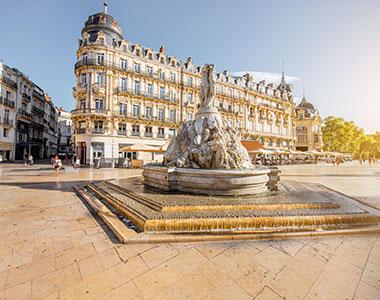 Montpellier, la charmante